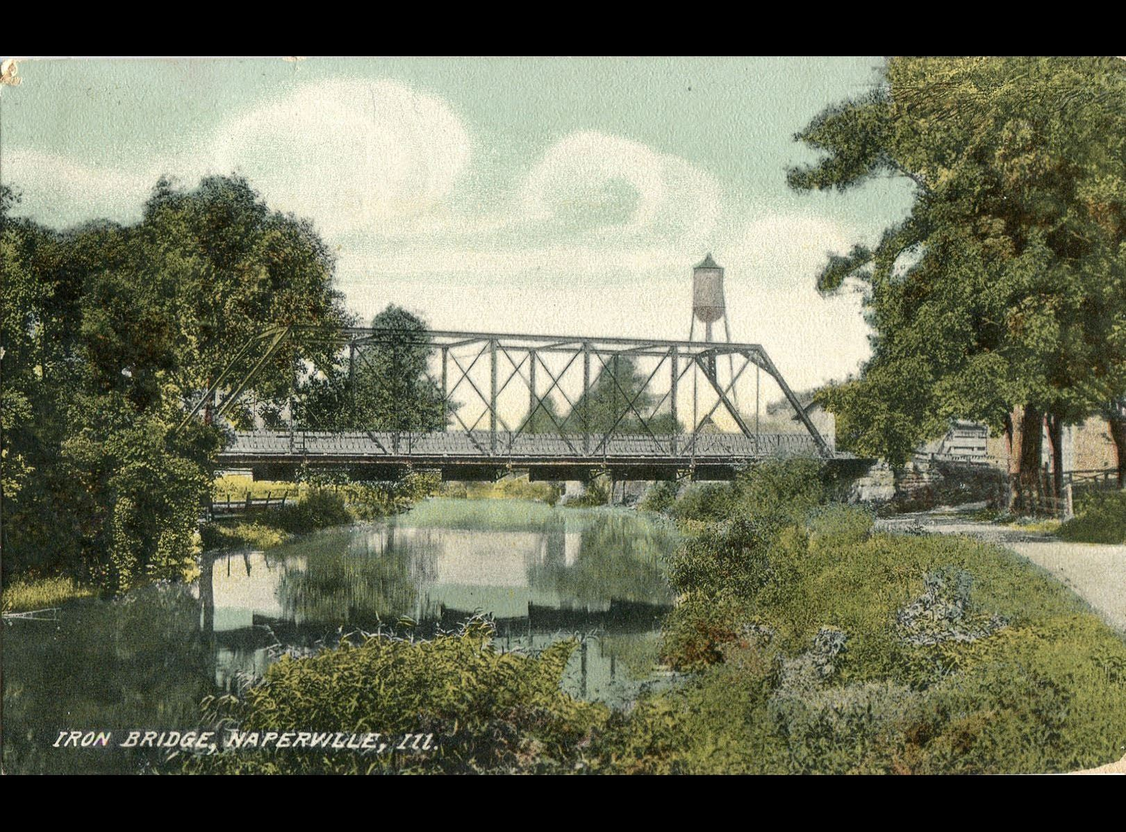 Washington Street bridge, postmarked December 3, 1903