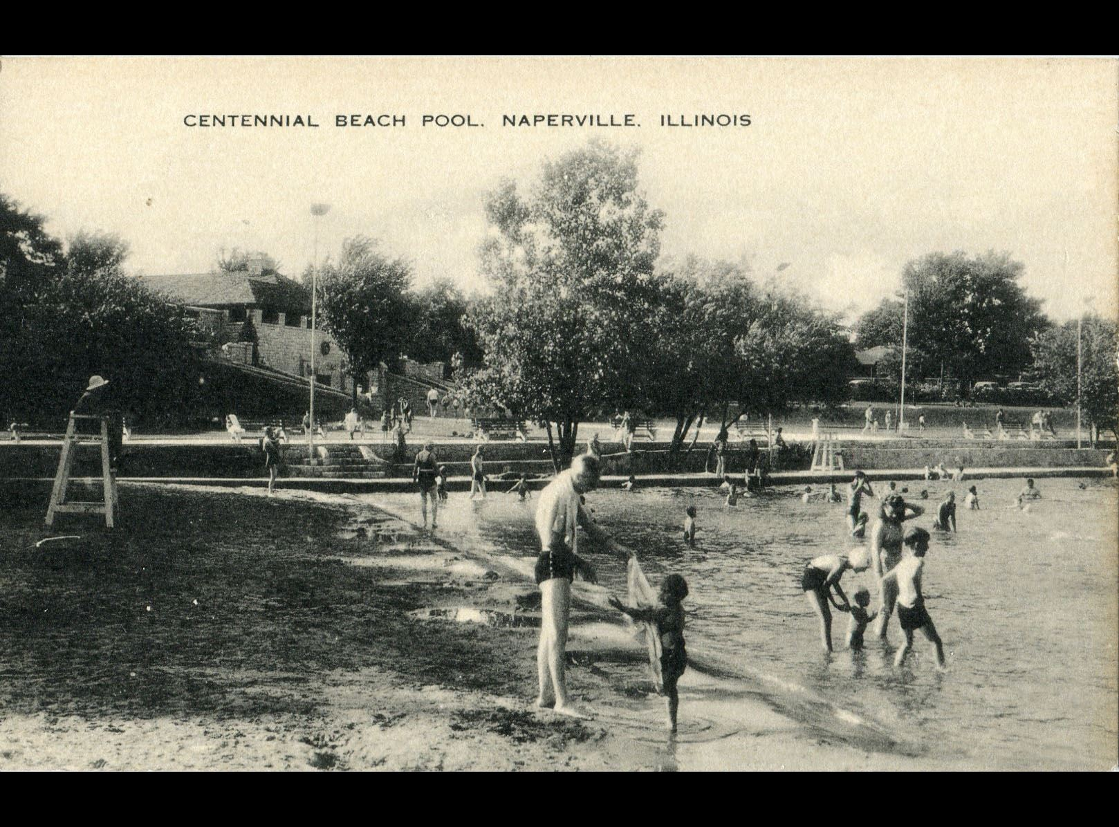 Centennial Beach Pool, mid 1930s