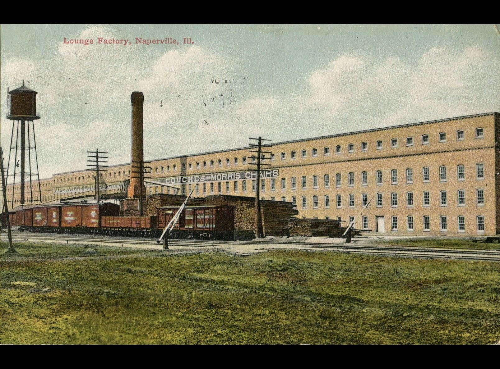 Lounge Factory, postmarked October 30, 1909
