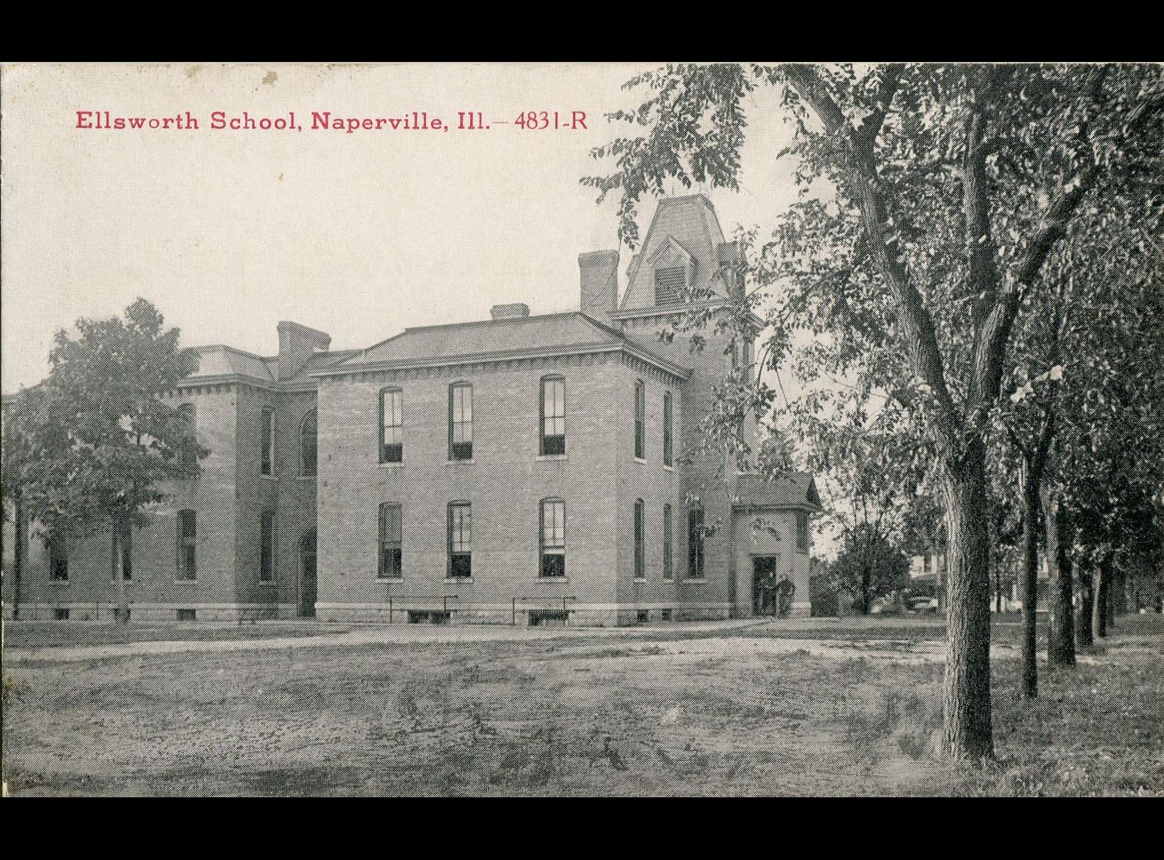 Ellsworth School, circa 1914