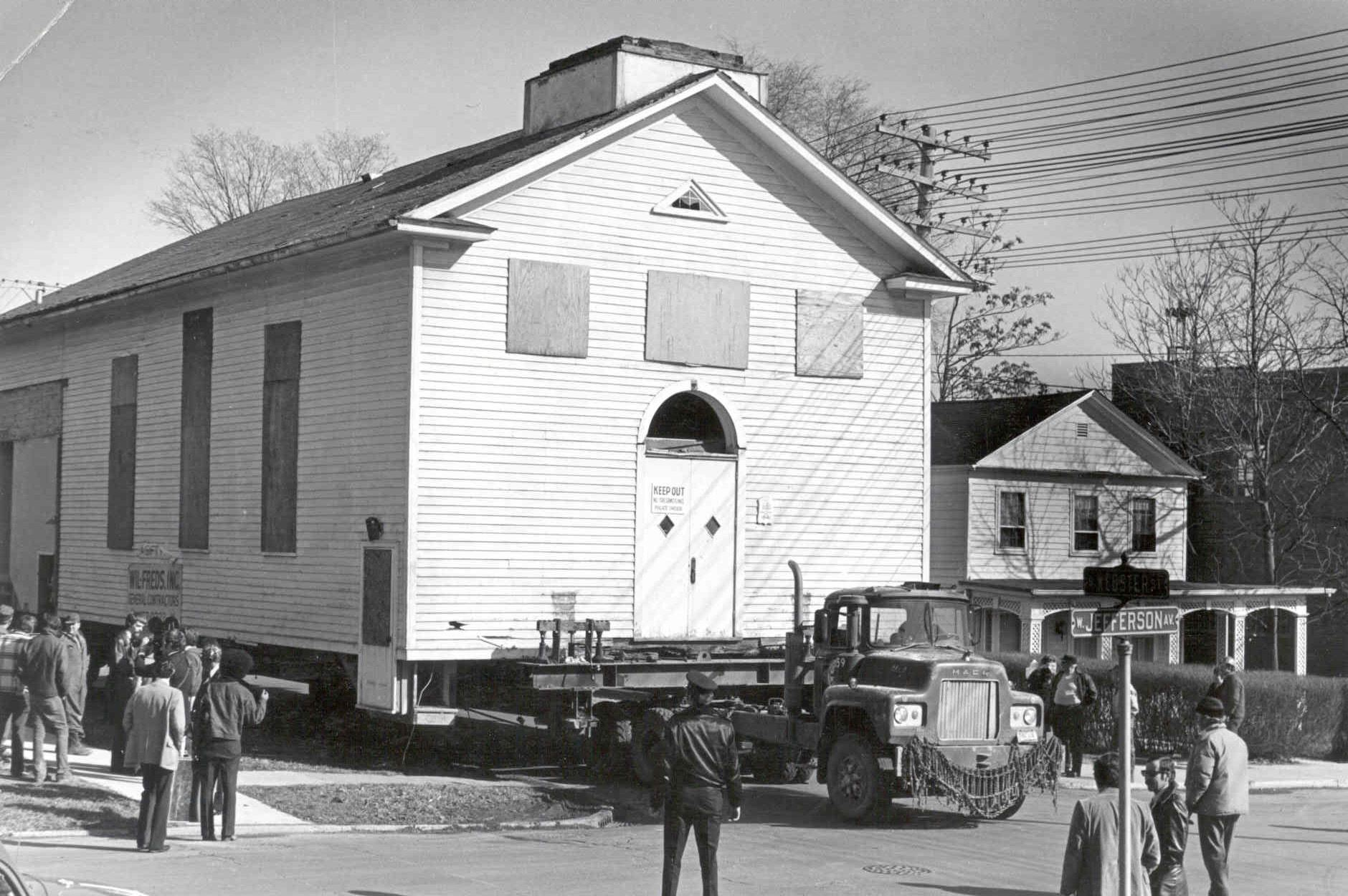 Meeting House move