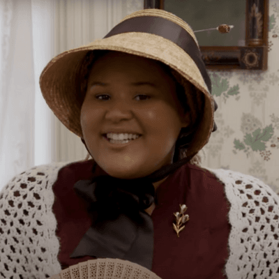 Voices of the Past Reenactor