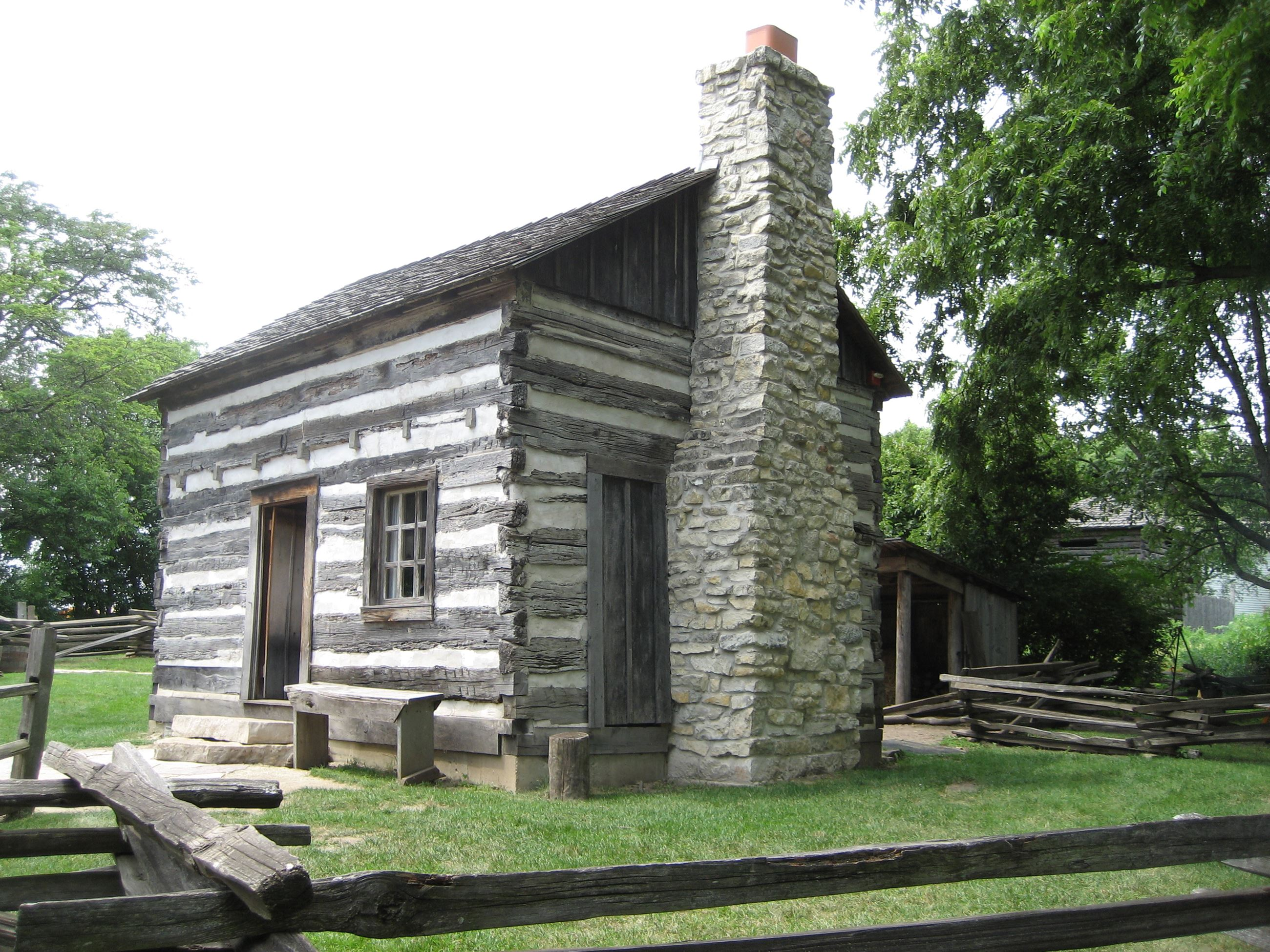 Log House at Naper Settlement