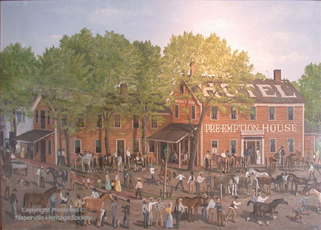 Horse Market Days event at the Pre-Emption House